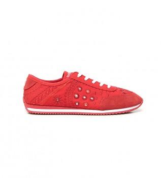 Comprare Desigual Pantofole rosse esotiche Royal