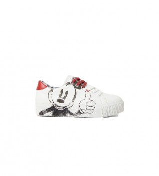 Buy Desigual Sneakers Street Mickey white
