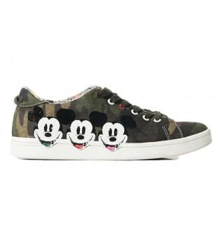 Buy Desigual Sneakers Cosmic Mickey camouflage