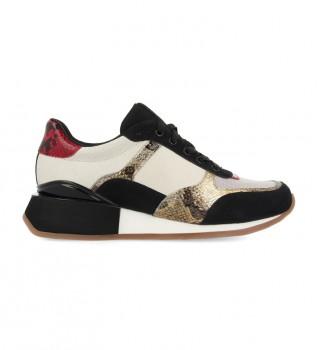 Comprar Gioseppo Sapatos de couro Kirov branco - altura da cunha: 5cm