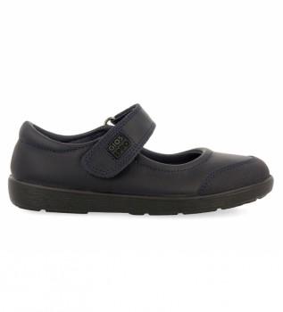 Buy Gioseppo Ballerina leather Lambda black