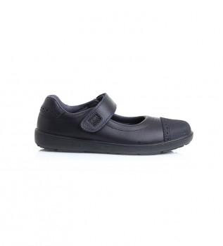 Buy Gioseppo Black Deltana leather ballerinas