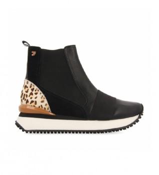 Comprar Gioseppo Botas de tornozelo Lunner preto, impressão animal