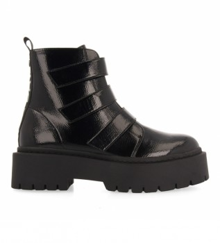 Buy Gioseppo Ankle boots 64085 black - Platform height 5cm -
