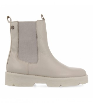 Buy Gioseppo Grey chelsea leather ankle boots