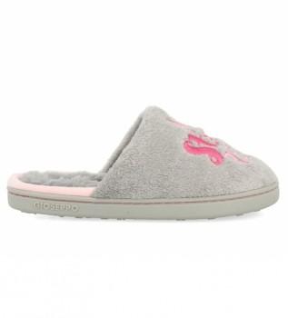Buy Gioseppo House slippers Lohne grey