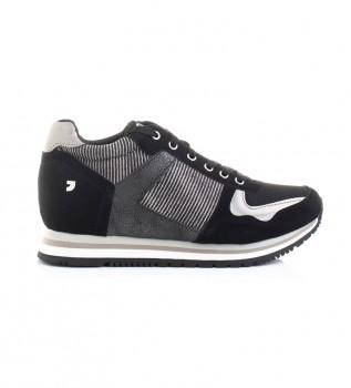 Comprare Gioseppo Sneakers Nassu nere - Altezza zeppa interna + suola: 5,8 cm-