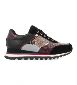 Comprar Gioseppo Sapatos Oryol burgundy - altura da cunha: 4cm