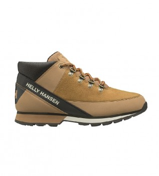 Buy Helly Hansen Flux Four brown leather boots