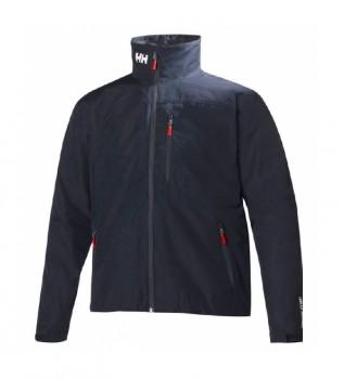 Buy Helly Hansen Jacket Crew Midlayer navy