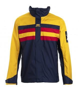 Buy Helly Hansen Urban Windbreaker jacket navy, yellow
