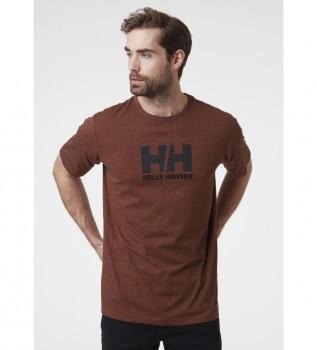 Buy Helly Hansen T-shirt HH Logo burgundy