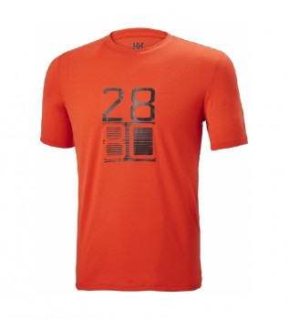 Acheter Helly Hansen T-shirt orange HH Racing