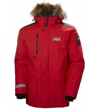 Acheter Helly Hansen Parka Svalbard rouge / Primaloft
