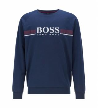 Acheter Hugo Boss Homeweare Authentic 10208539 10 sweat-shirt marine