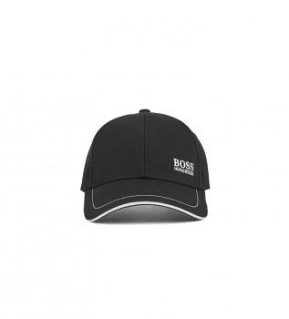 Acheter Hugo Boss Casquette de baseball en coton sergé avec logo brodé noir