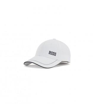 Acheter Hugo Boss Casquette de base-ball en sergé de coton avec logo brodé blanc