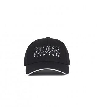Comprare Hugo Boss Berretto da baseball in piqué tecnico nero