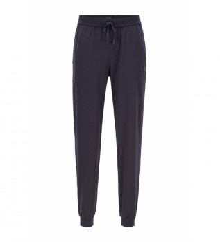 Acheter Hugo Boss Pantalon en coton Homewear Cotton Mix&Match ; noir