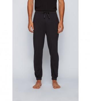 Comprare Hugo Boss Pantaloni da casa in cotone da abbinare; nero