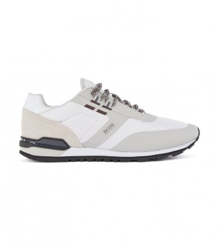 Buy Hugo Boss Parkour Sneakers beige, white