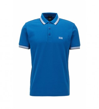 Comprare Hugo Boss Polo in piqué 10102943 blu