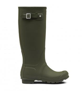 Buy Hunter Original Tall green boots -Height: 38cm
