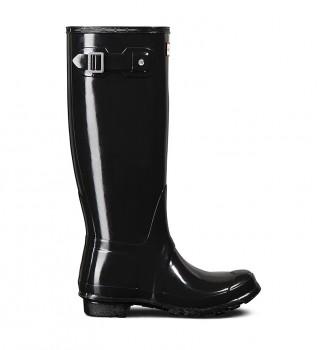 Buy Hunter Original Tall Gloss black boot -Height: 38cm