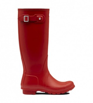 Buy Hunter Tall wellies red