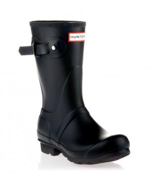 Acheter Hunter Boots Original Short noir - Hauteur de la tige : 24cm