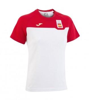 camiseta joma combi mujer blanco br66a190c