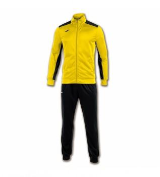 Buy Joma  Academy tracksuit yellow, navy