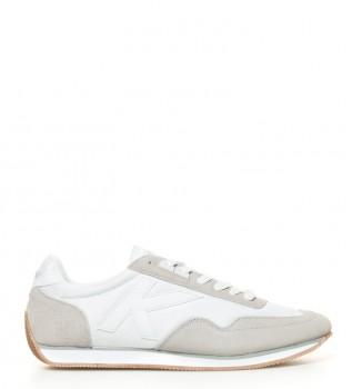 Scarpe in pelle Passion CRO bianco, beige