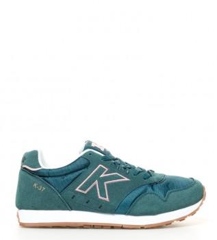 Kelme - Zapatillas de piel Leave blanco aqc2MfwBe