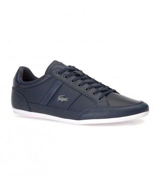 Comprare Lacoste Pantofole Chaymon blu scuro