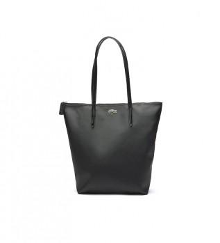 Acheter Lacoste Sac à provisions vertical L.12.12 Concept noir -26x35x16cm