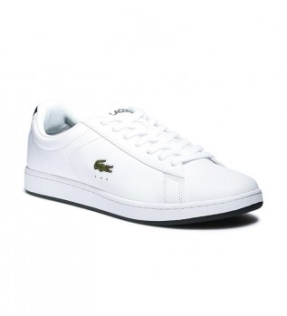 Comprare Lacoste Sneakers Carnavy Evo in pelle bianca