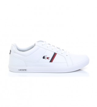 Acheter Lacoste Europa Tri chaussures blanches