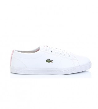 Acheter Lacoste Chaussures Riberac blanc, rose