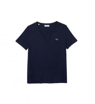 Acheter Lacoste TF8392_166 T-shirt bleu marine