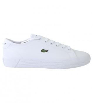 Acheter Lacoste Chaussures en cuir Gripshot blanc