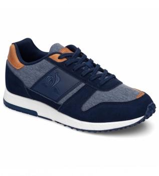 Acheter Le Coq Sportif Chaussures en cuir bleu Jazy Classic