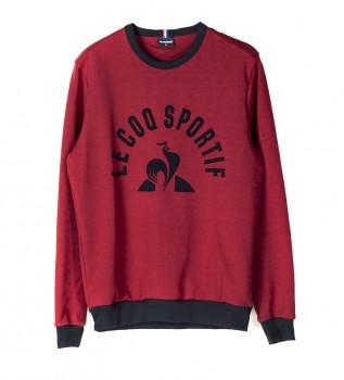 Acheter Le Coq Sportif Sweatshirt Saison N°2 rouge