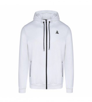Acheter Le Coq Sportif Sweatshirt Tech FZ blanc