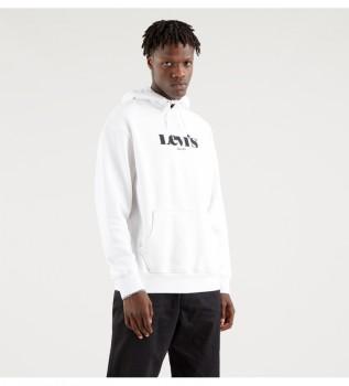 Acheter Levi's Sweat-shirt Logo graphique blanc