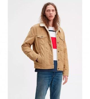 Acheter Levi's Type 3 Sherpa Jacket beige