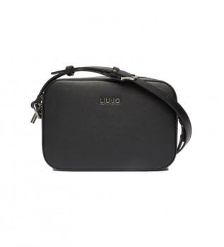 Comprar Liu Jo Bolso bandolera con charms negro -24x7x16cm-
