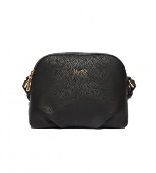 Buy Liu Jo EcoSustainable shoulder bag black -22x10x16cm