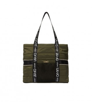 Comprar Liu Jo EcoSustainable Tote Bag verde -44x37x11cm