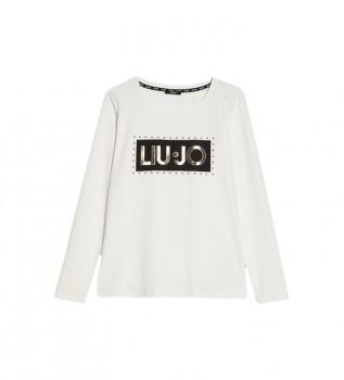 Acheter Liu Jo T-shirt avec logo blanc